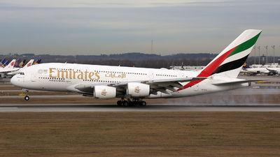 A picture of A6EUL - Airbus A380861 - Emirates - © Stefan Mayer