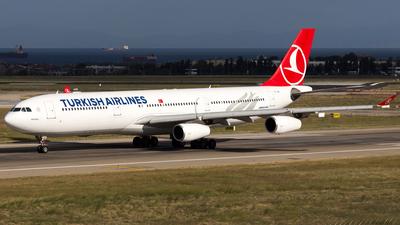 TC-JIH - Airbus A340-313X - Turkish Airlines