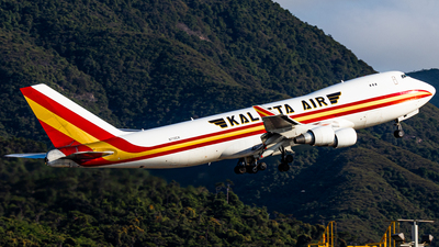 A picture of N710CK - Boeing 7474B5F - Kalitta Air - © Angus Chae - Skies of Pearl