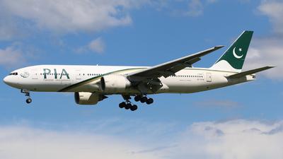 AP-BHX - Boeing 777-240(ER) - Pakistan International Airlines (PIA)