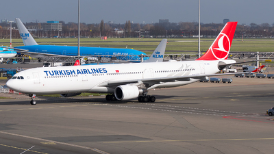 A picture of TCJOH - Airbus A330303 - Turkish Airlines - © Jevgeni Ivanov