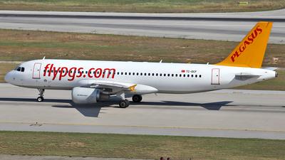 TC-DCF - Airbus A320-216 - Pegasus Airlines
