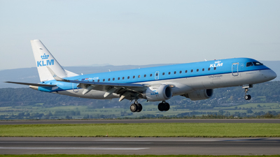 PH-EXB - Embraer 190-100STD - KLM Cityhopper