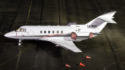 A picture of XAWNG - Hawker 800XP - [258397] - © LimaFox Spotter