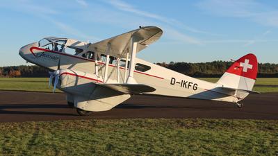 D-IKFG - De Havilland DH-89A Dragon Rapide - Private
