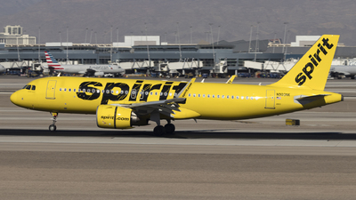 A picture of N903NK - Airbus A320271N - Spirit Airlines - © David Lee