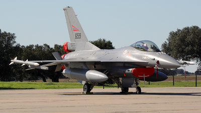 659 - General Dynamics F-16AM Fighting Falcon - Norway - Air Force
