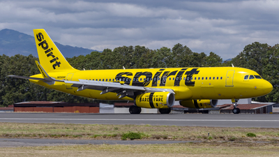 A picture of N656NK - Airbus A320232 - Spirit Airlines - © Ariel Castillo Morales