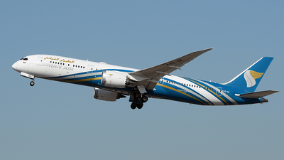 A picture of A4OSF - Boeing 7879 Dreamliner - Oman Air - © Huang Chengjen