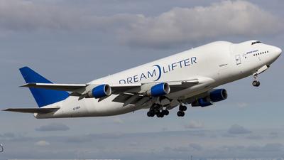 N718BA - Boeing 747-4H6 - Boeing Company