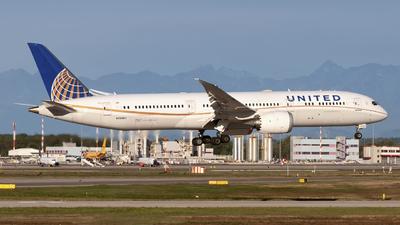 N29961 - Boeing 787-9 Dreamliner - United Airlines