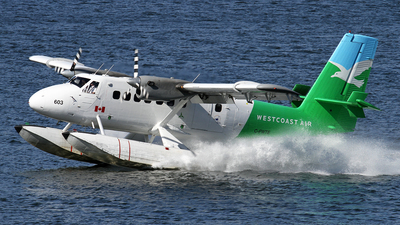 C-FWTE - De Havilland Canada DHC-6-100 Twin Otter - West Coast Air