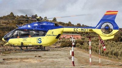 A picture of ECMOT - Airbus Helicopters H145 - Babcock MCS Espana - © Ruben Galindo