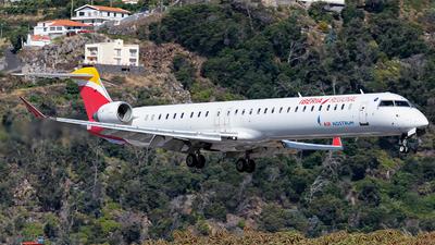 EC-LJX - Bombardier CRJ-1000 - Iberia Regional (Air Nostrum)