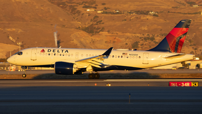 A picture of N125DU - Airbus A220100 - Delta Air Lines - © Michael Rodeback