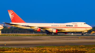 B-2462 - Boeing 747-2J6F(SCD) - Uni-Top Airlines