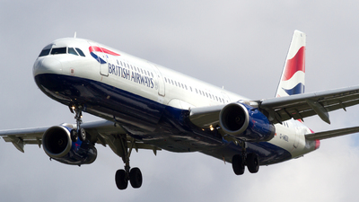 G-MEDL - Airbus A321-231 - British Airways