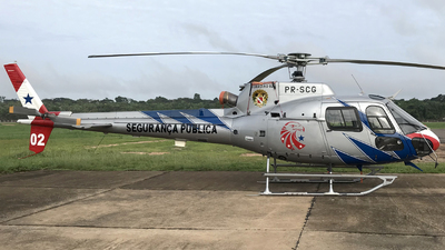 PR-SCG - Eurocopter AS 350B2 Ecureuil - Brazil - Government of Para State