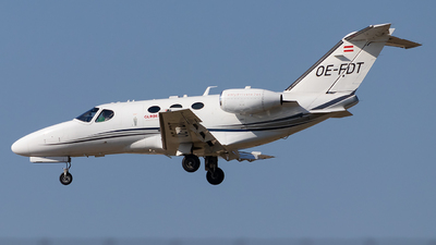 OE-FDT - Cessna 510 Citation Mustang - GlobeAir