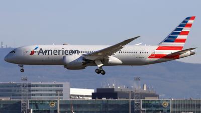 A picture of N805AN - Boeing 7878 Dreamliner - American Airlines - © Eddie Heisterkamp