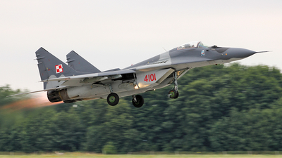 4101 - Mikoyan-Gurevich Mig-29G Fulcrum - Poland - Air Force