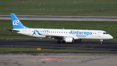 A picture of ECKRJ - Embraer E195LR - Air Europa - © Holger Eultgen