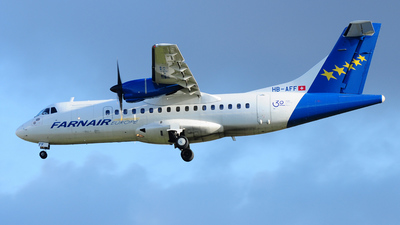 HB-AFF - ATR 42-320 - Farnair Switzerland