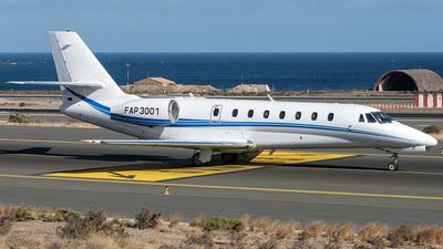 A picture of FAP3001 - Cessna 680 Citation Sovereign - [6800272] - © Adolfo Bento de Urquía