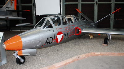 4D-YL - Fouga CM-170 Magister - Austria - Air Force