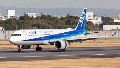 A picture of JA134A - Airbus A321272N - All Nippon Airways - © LUSU
