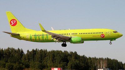 A picture of VQBVM - Boeing 7378GJ - S7 Airlines - © Malyshev Andrei