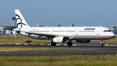 SX-DGP - Airbus A321-232 - Aegean Airlines