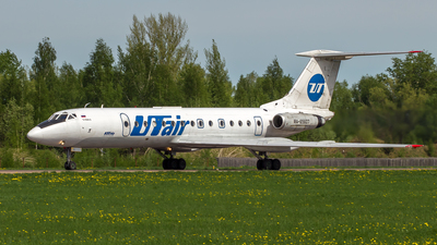 RA-65607 - Tupolev Tu-134A-3 - UTair Aviation
