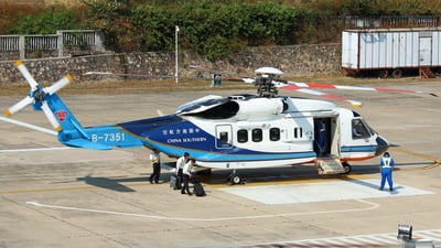 B-7351 - Sikorsky S-92 Helibus - China Southern Airlines