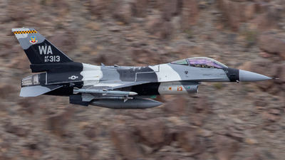 87-0313 - Lockheed Martin F-16C Fighting Falcon - United States - US Air Force (USAF)