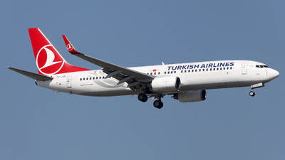 TC-JGB - Boeing 737-8F2 - Turkish Airlines