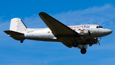 N272R - Douglas DC-3C - Desert Air Transport