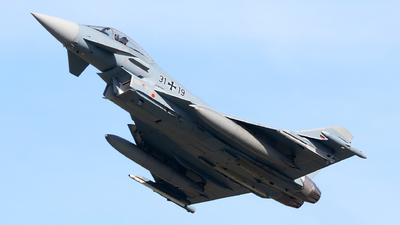 31-19 - Eurofighter Typhoon EF2000 - Germany - Air Force