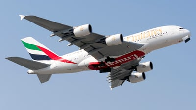 A6-EEF - Airbus A380-861 - Emirates
