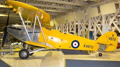 K4972 - Hawker Hart B4 - United Kingdom - Royal Air Force (RAF)