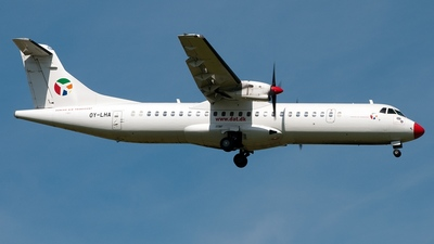 OY-LHA - ATR 72-202 - Danish Air Transport (DAT)