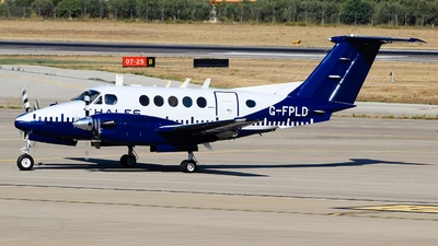 A picture of GFPLD - Beech B200 Super King Air - Cobham Flight Inspection - © Pampillonia Francesco - Plane Spotters Bari