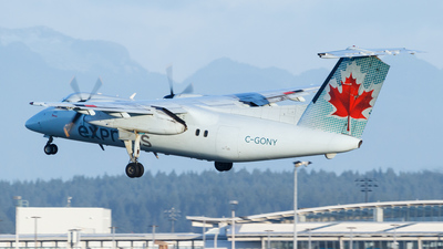 C-GONY - Bombardier Dash 8-102 - Air Canada Express (Jazz Aviation)