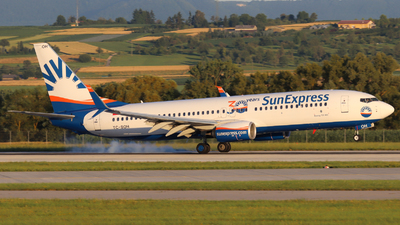 A picture of TCSOH - Boeing 7378HC - SunExpress - © Justin Stöckel