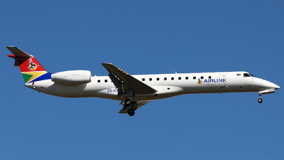 ZS-SYB - Embraer ERJ-145MP - Airlink
