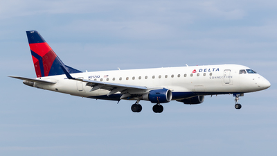 A picture of N217JQ - Embraer E175LR - Delta Air Lines - © Evan Dougherty