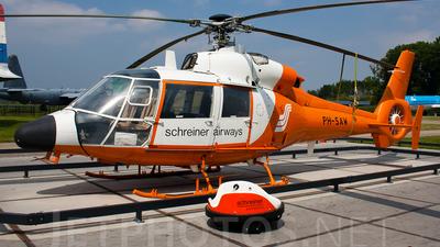PH-SAW - Aérospatiale SA 365C2 Dauphin 2 - Schreiner Airways