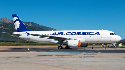 A picture of FHZGS - Airbus A320214 - Air Corsica - © Olivier Corneloup