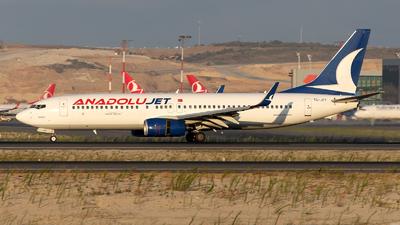 A picture of TCJFF - Boeing 7378F2 - Turkish Airlines - © Mustafa Sandikci