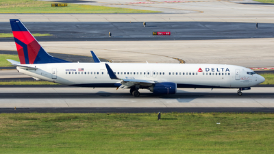 N827DN - Boeing 737-932ER - Delta Air Lines